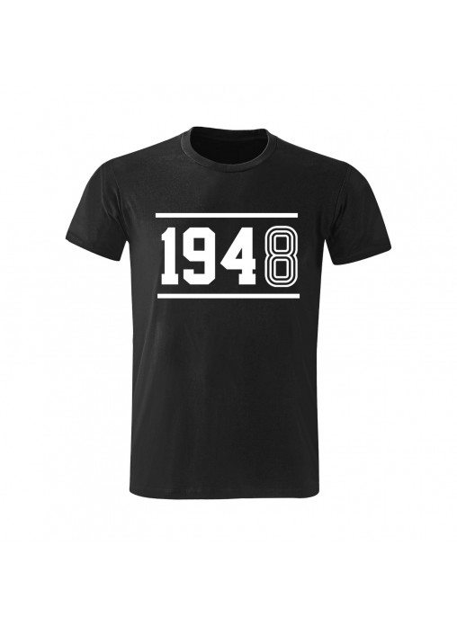TRICOU NEGRU BUMBAC - MODEL U 1948