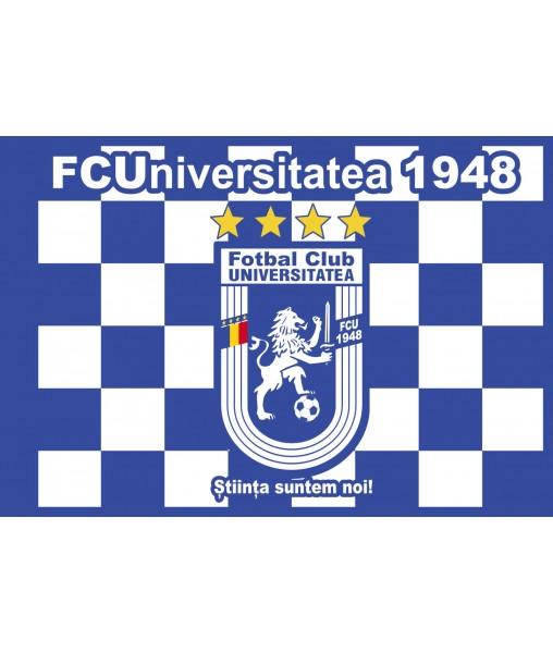 Steag albastru 95x135 cm