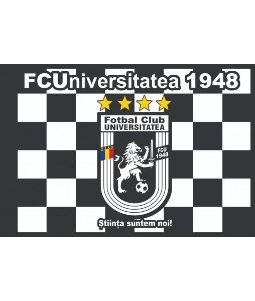 Steag  negru 95x135 cm